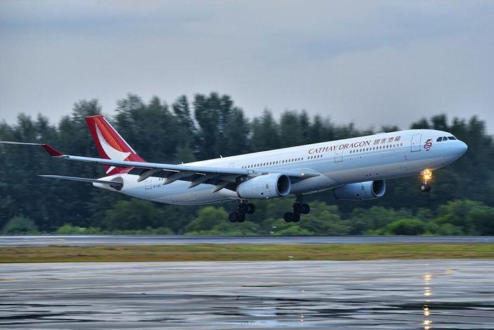 Les compagnies aériennes les plus propres au monde : Cathay Dragon
