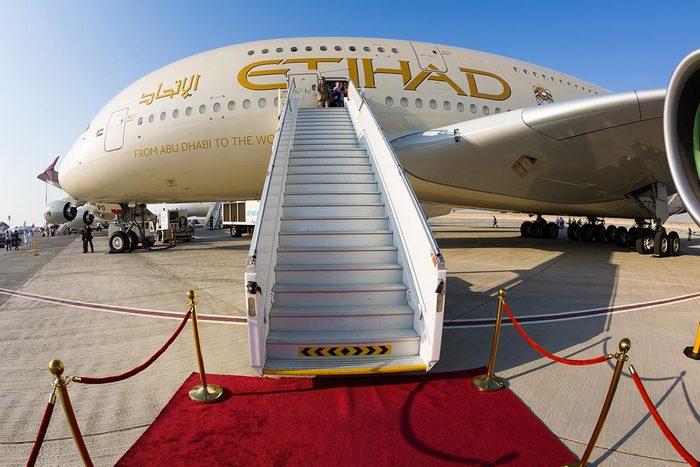 Les compagnies aériennes les plus propres au monde : Etihad Airways