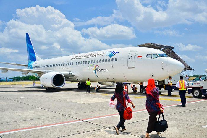 Les compagnies aériennes les plus propres au monde : Garuda Indonesia