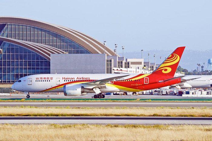 Les compagnies aériennes les plus propres au monde : Hainan Airlines