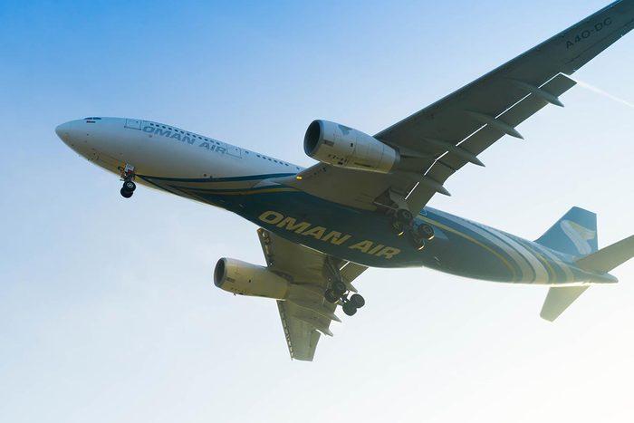 Les compagnies aériennes les plus propres au monde : Oman Air