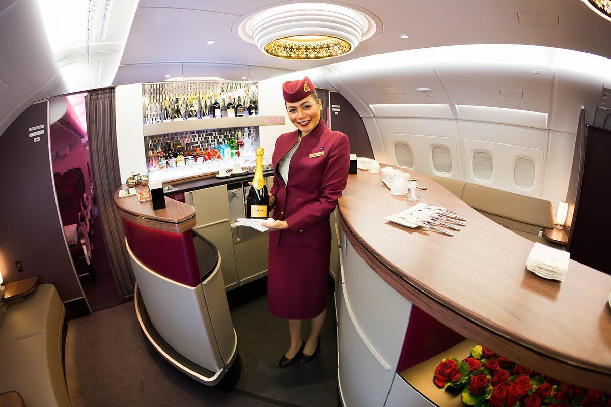 Les compagnies aériennes les plus propres au monde : Qatar Airways