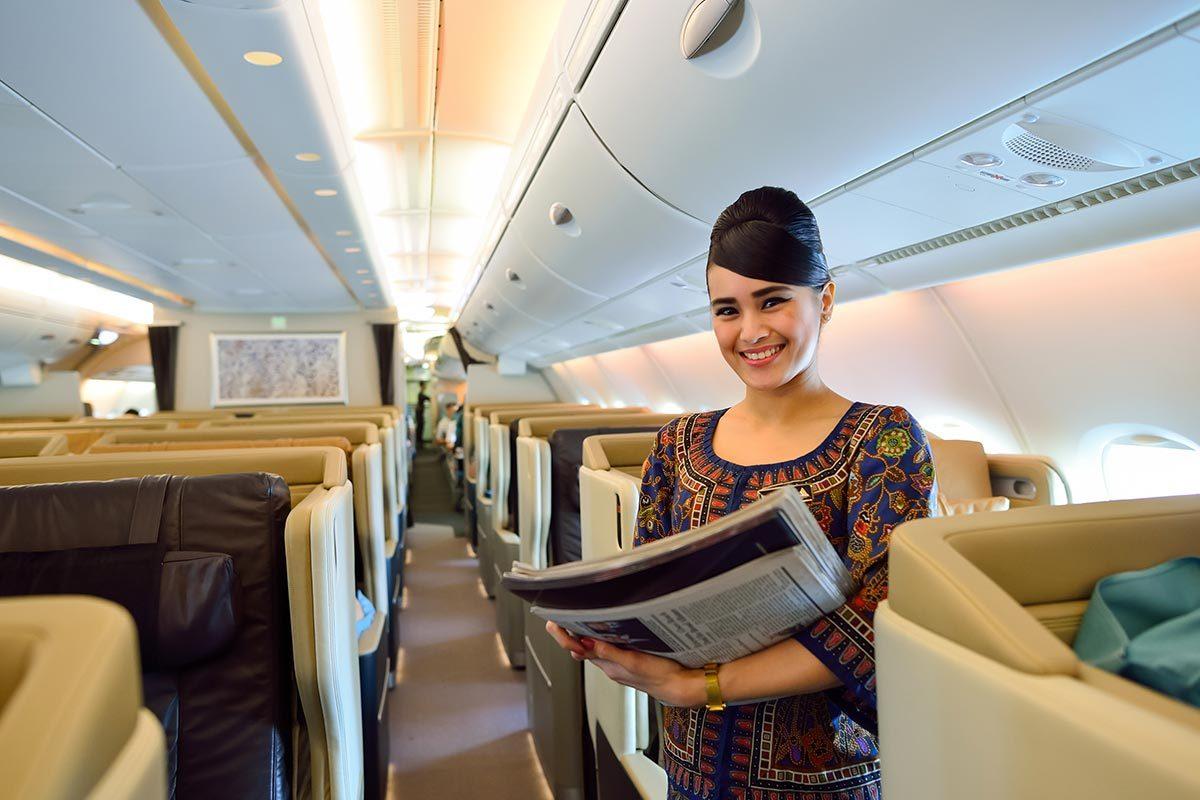 Les compagnies aériennes les plus propres au monde : Singapore Airlines