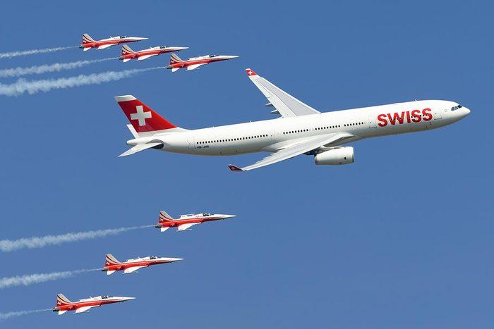Les compagnies aériennes les plus propres au monde : Swiss International Air Lines