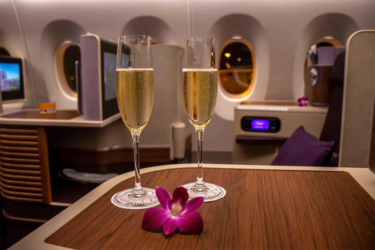Les compagnies aériennes les plus propres au monde : Thai Airways