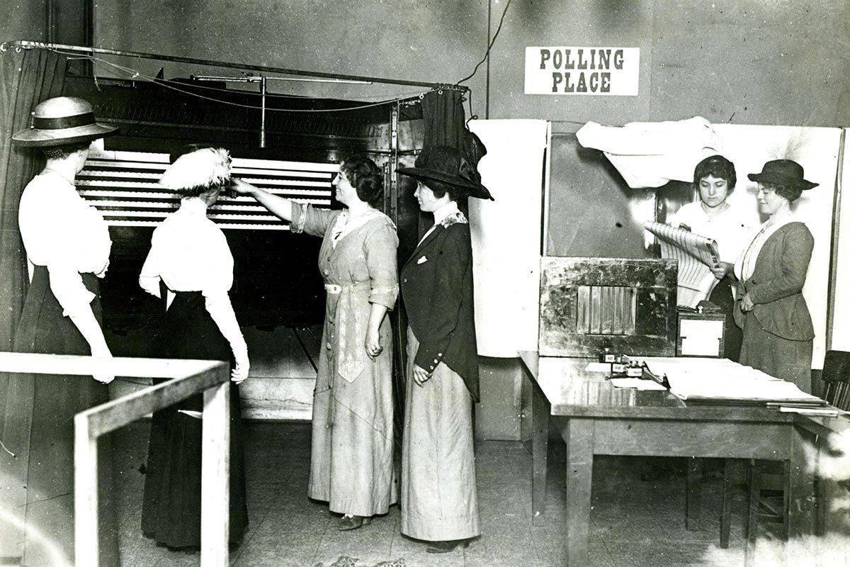 La condition féminine a changé en 1895.