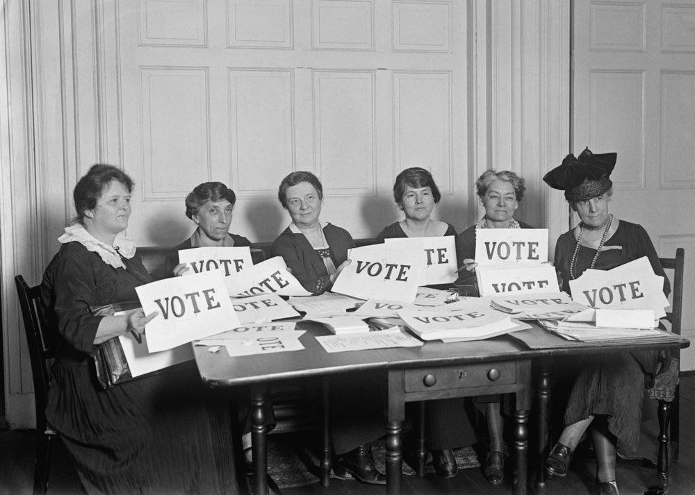La condition féminine a changé en 1920.