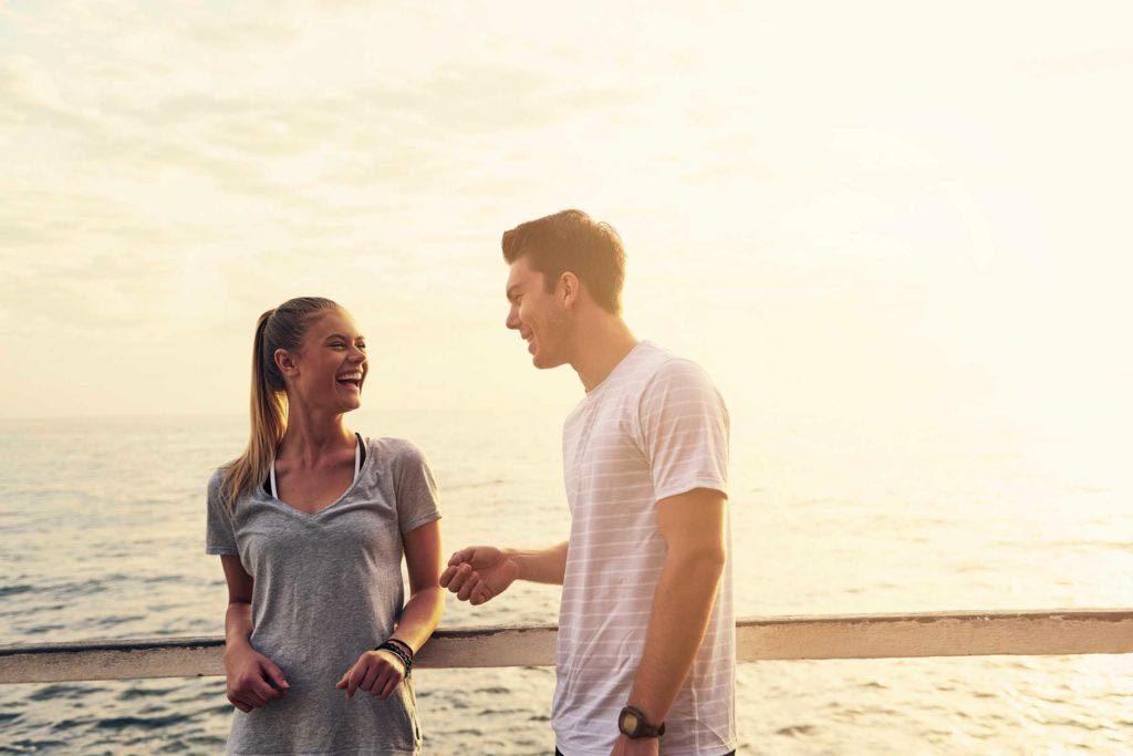 Vous pouvez avoir confiance en votre partenaire, s'il laisse tout tomber pour vous parler.