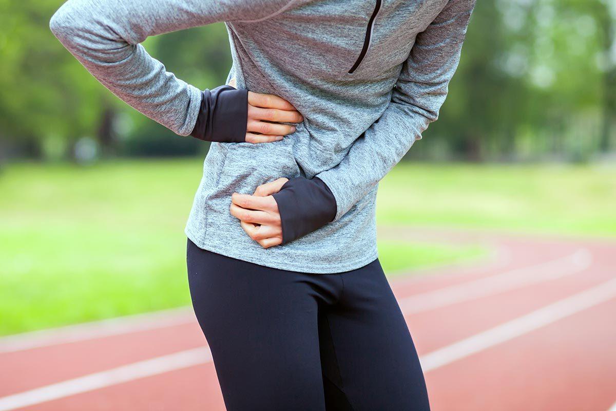 Prétexte pour ne pas courir : «J'ai toujours une crampe au ventre lorsque je cours.»