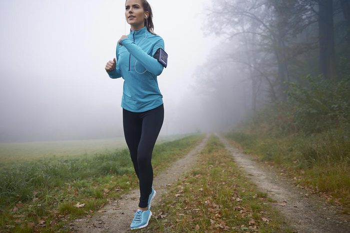 Prétexte pour ne pas courir : «Courir seul n'est pas rassurant.»