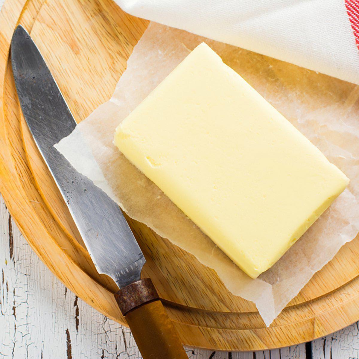 Pour cuisinier rapidement, laissez le beurre au frigo.