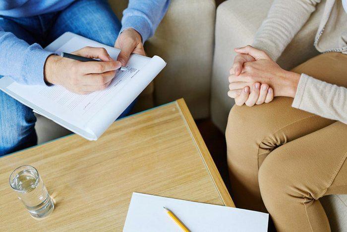 Une femme de 50 ans et plus est plus vulnérable à l'anxiété.