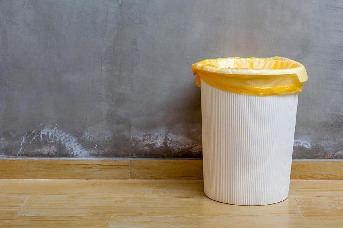 Grand ménage du printemps : nettoyez la poubelle.