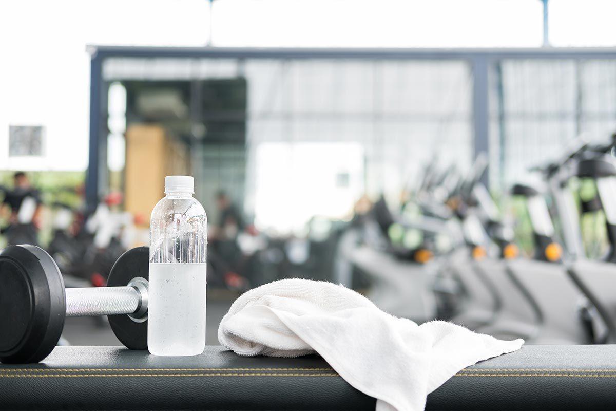 Infections que vous pouvez attraper au gym : la dermatophytose (tinea corporis).