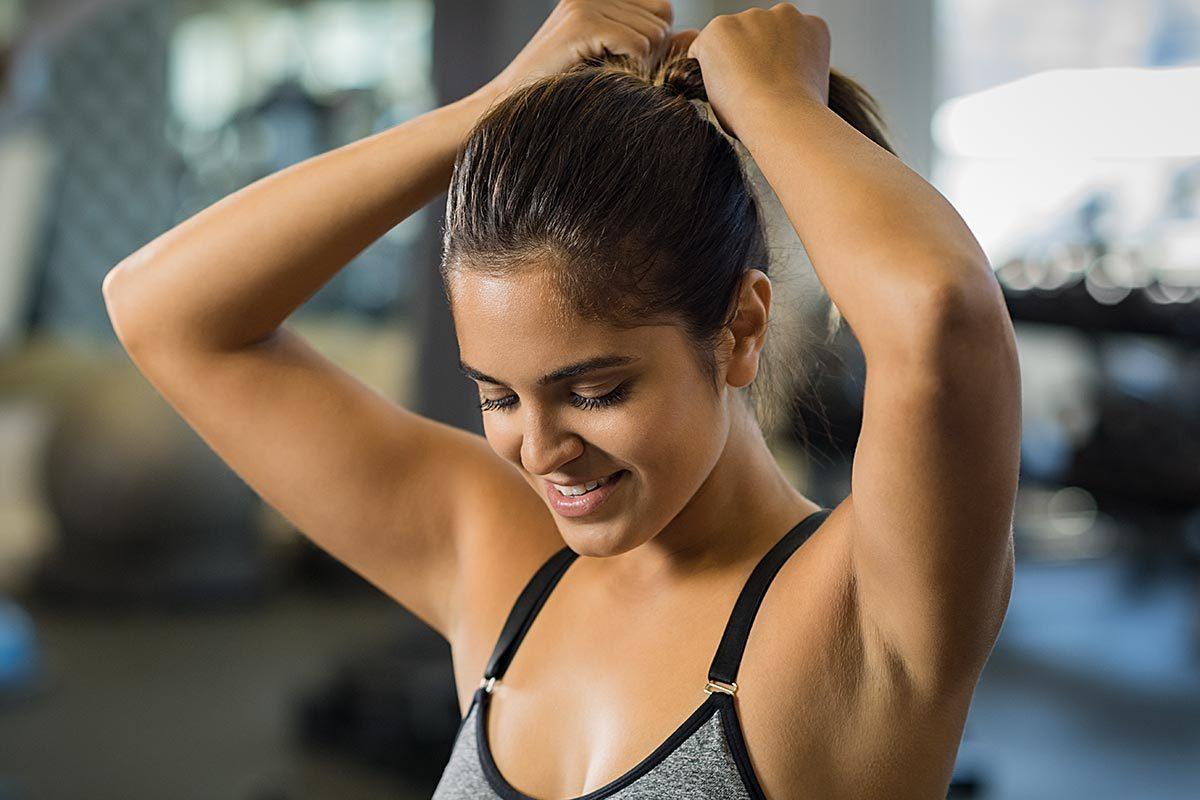 Infections que vous pouvez attraper au gym : les poux.