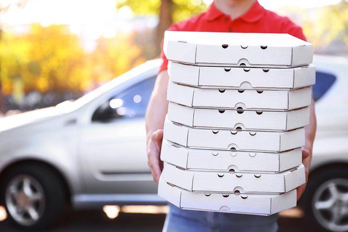 Livraison pizza à domicile : la pizza ne sera peut-être pas parfaite.