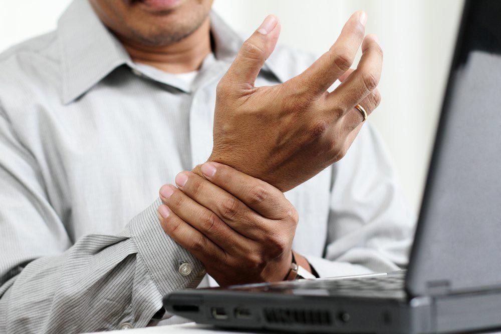 Maladie technologie : syndrome du canal carpien