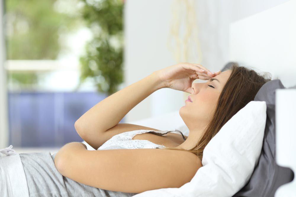 Les maux de ventre peuvent être causés par une inflammation de la vésicule biliaire.