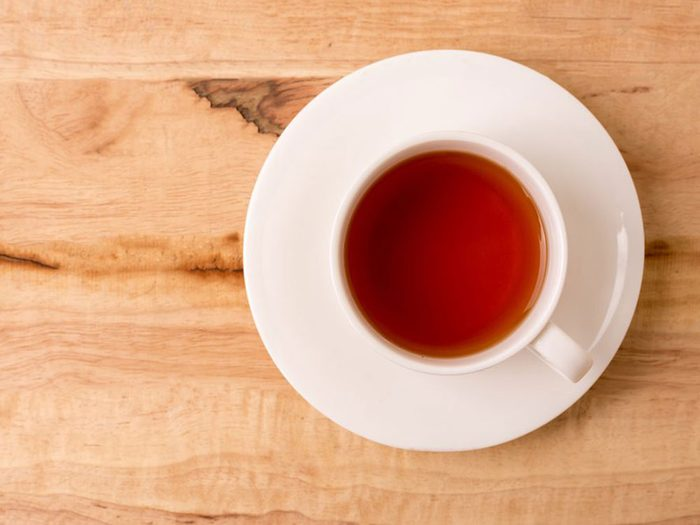 Ne pas boire de caféine avant certains tests de stress chez le médecin.