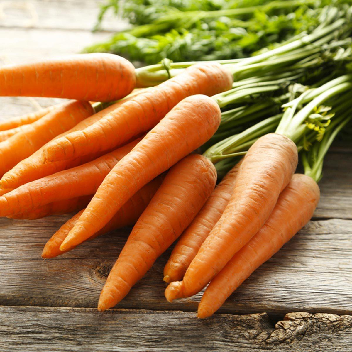 Les meilleurs aliments pour avoir une belle peau : les carottes.