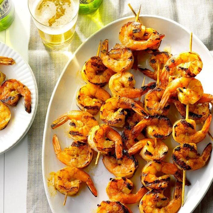 Les meilleurs aliments pour avoir une belle peau : les crevettes.