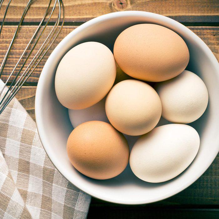 Les meilleurs aliments pour avoir une belle peau : les oeufs.