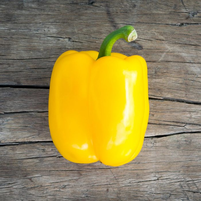 Les meilleurs aliments pour avoir une belle peau : le poivron jaune.