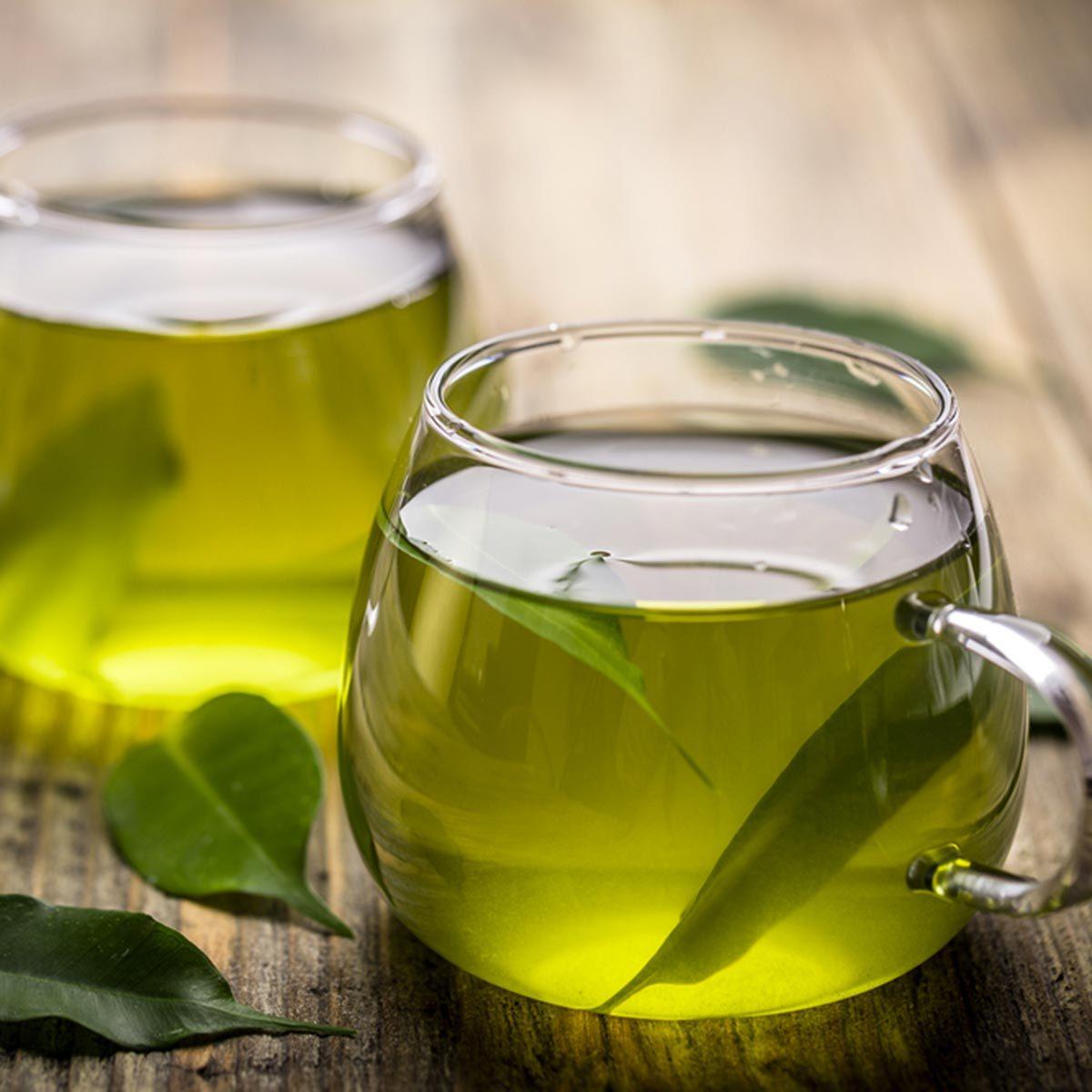 Les meilleurs aliments pour avoir une belle peau : le thé vert.