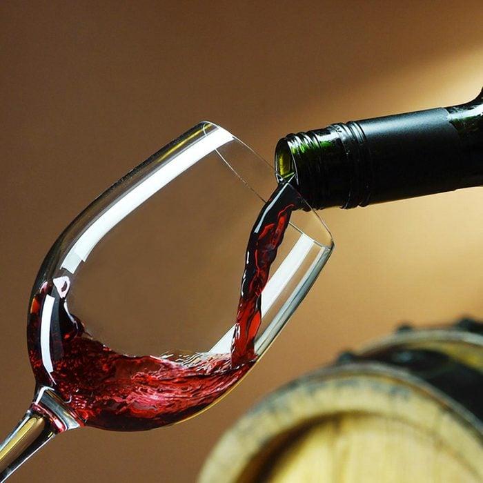 Les meilleurs aliments pour avoir une belle peau : le vin rouge.