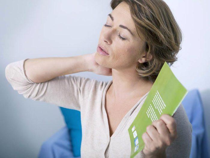 Durant la ménopause, certains changements physiques peuvent apparaitre.