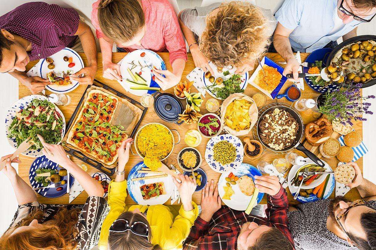 Régime sans gluten et sans viande : différenciez les végétariens et les végétaliens.