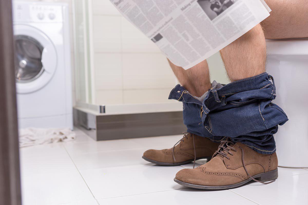 Faits révélés par les selles : allez aux toilettes sans effort est un signe de santé.