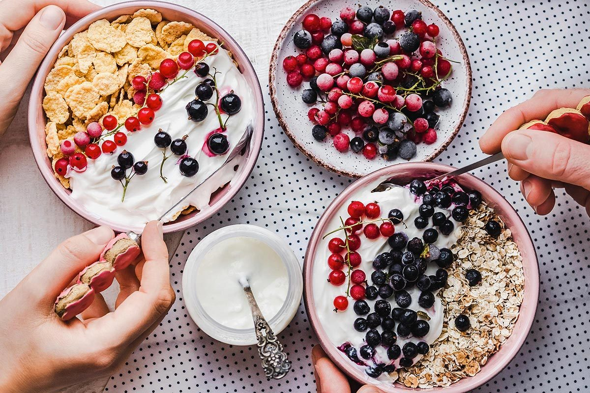 Pour réduire la tension artérielle, mangez du yogourt.