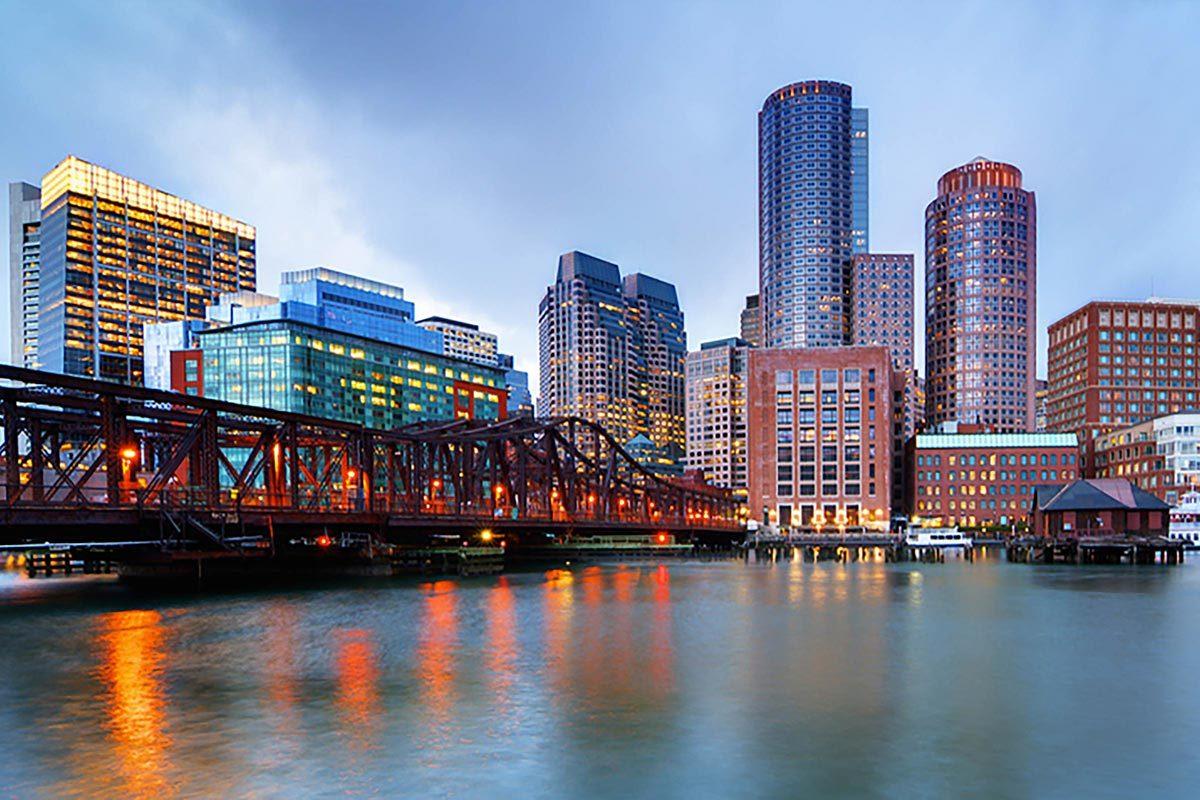 Ville américaines dont les chambres d'hôtel sont les plus chères : Boston.