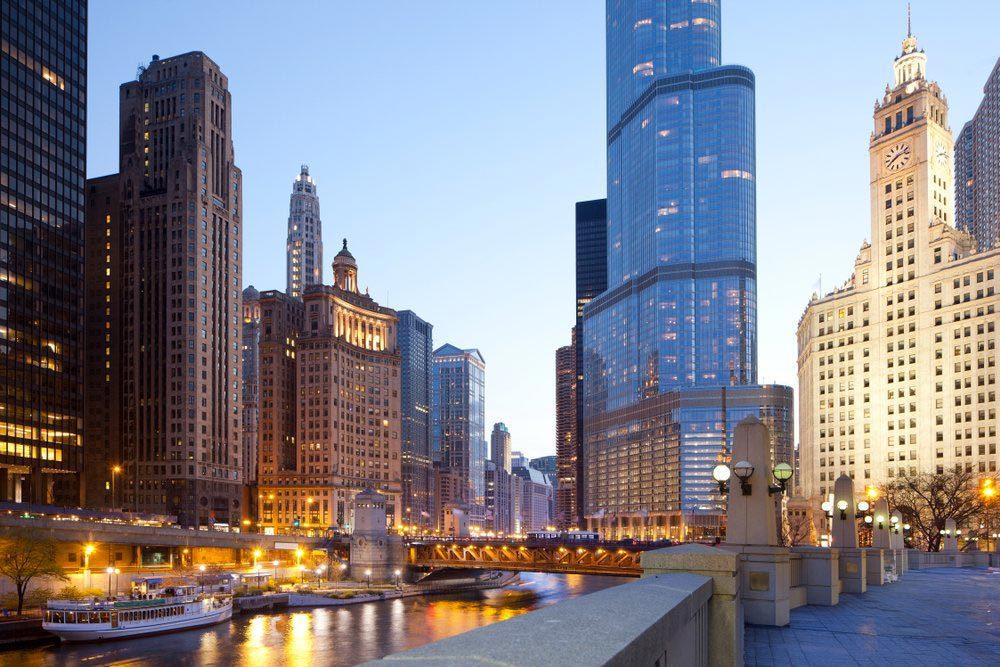 Ville américaines dont les chambres d'hôtel sont les plus chères : Chicago.