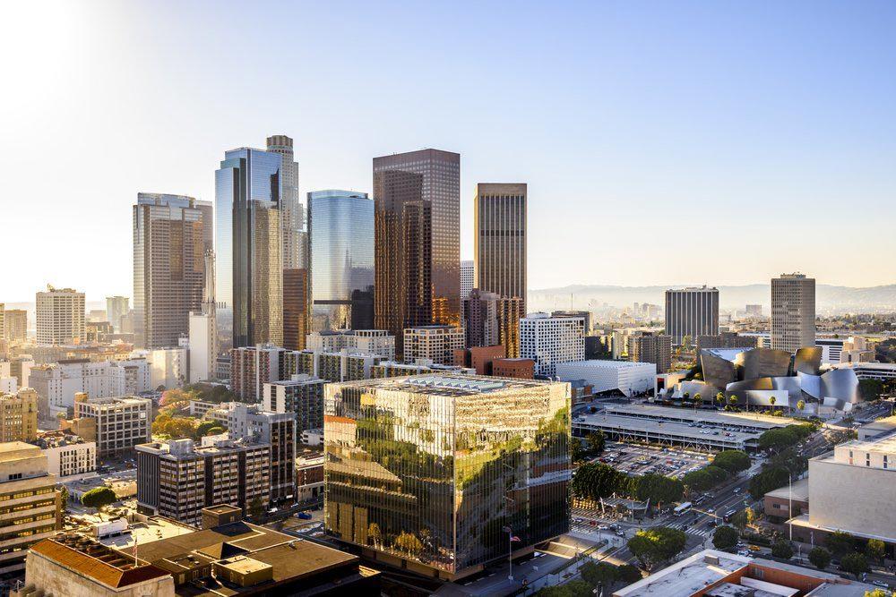 Ville américaines dont les chambres d'hôtel sont les plus chères : Los Angeles.