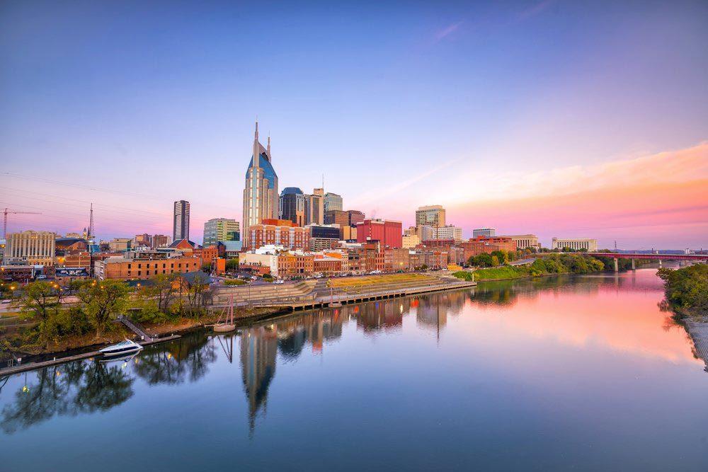 Ville américaines dont les chambres d'hôtel sont les plus chères : Nashville.