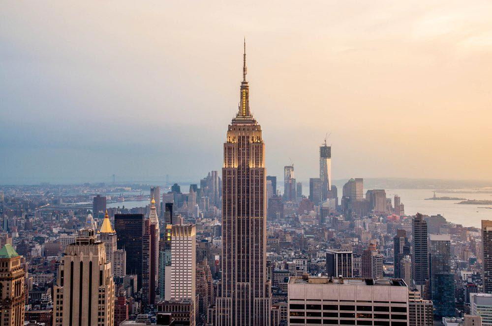 Ville américaines dont les chambres d'hôtel sont les plus chères : New-York.