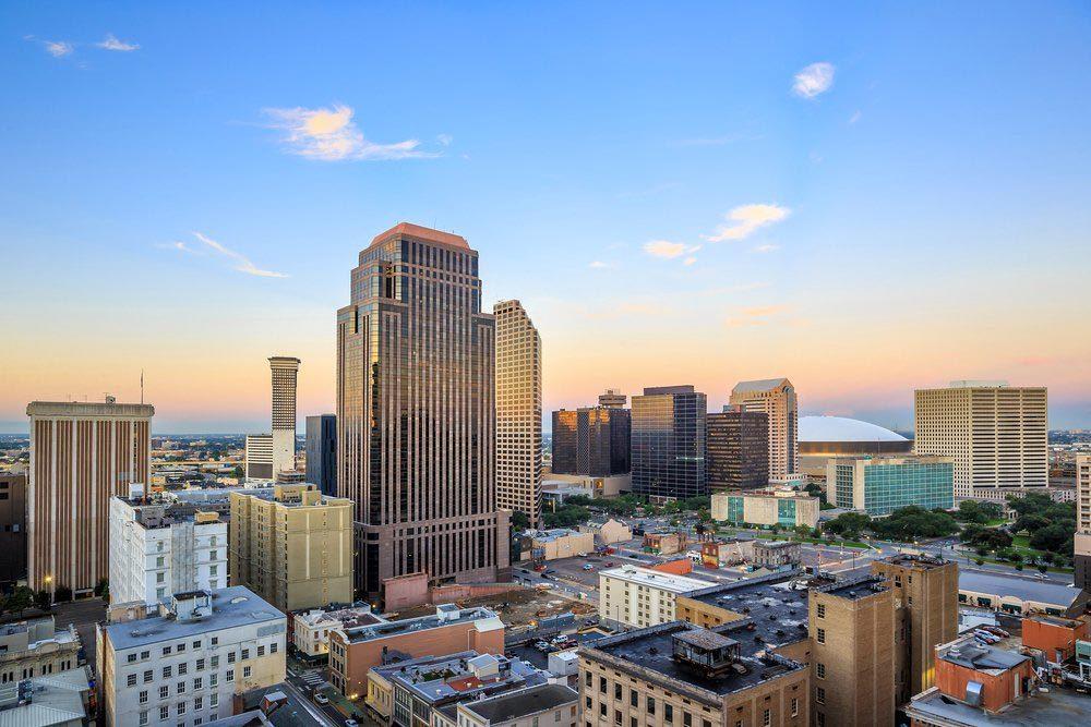 Ville américaines dont les chambres d'hôtel sont les plus chères : Nouvelle-Orléans.