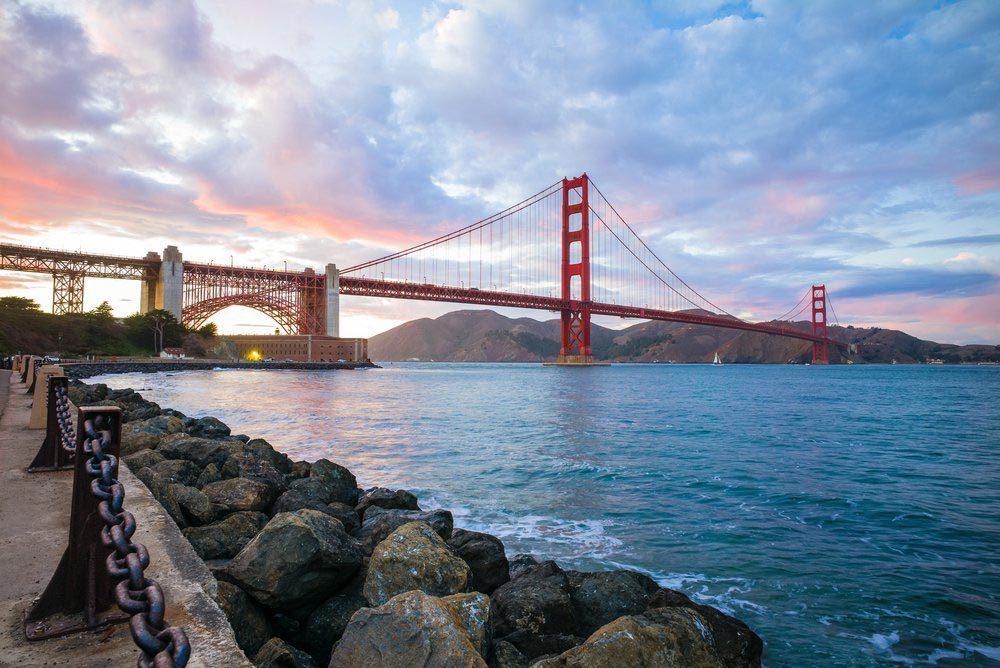 Ville américaines dont les chambres d'hôtel sont les plus chères : San-Francisco.