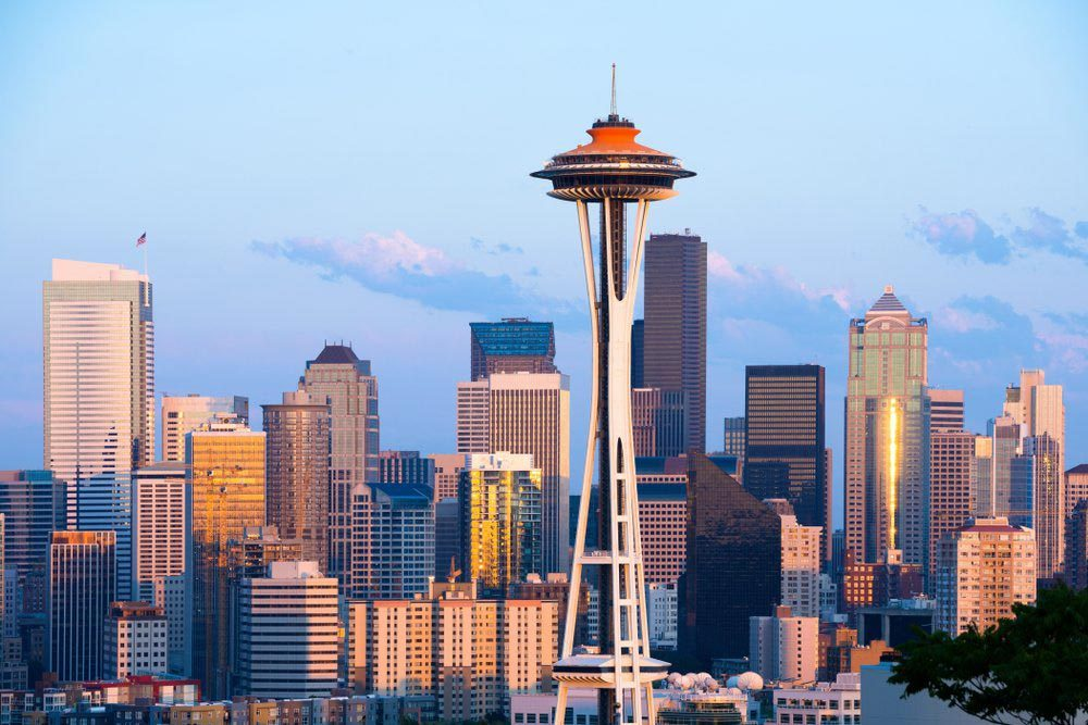 Ville américaines dont les chambres d'hôtel sont les plus chères : Seattle.