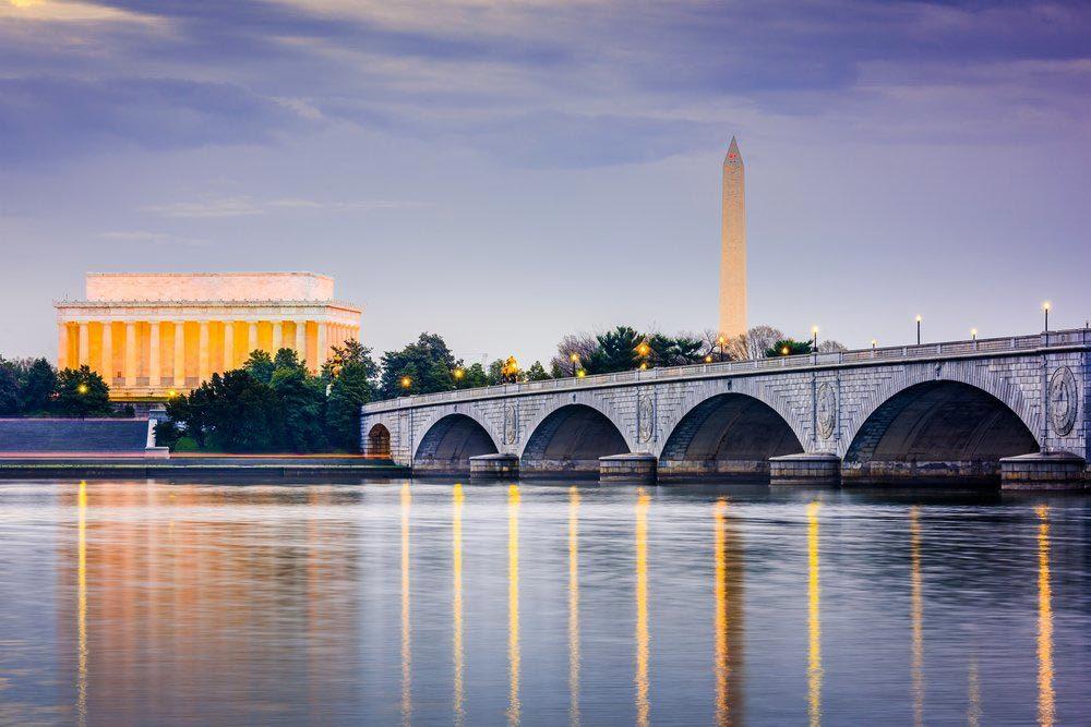 Ville américaines dont les chambres d'hôtel sont les plus chères : Washington.