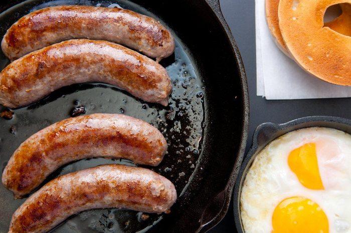 Aliments surgelés qu'il ne faut plus acheter : les déjeuners préparés.