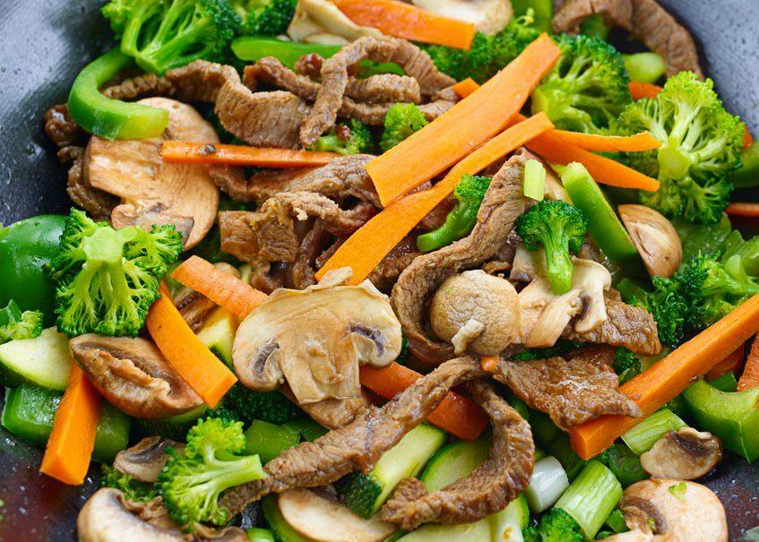 Aliments surgelés qu'il ne faut plus acheter : les plats sautés.