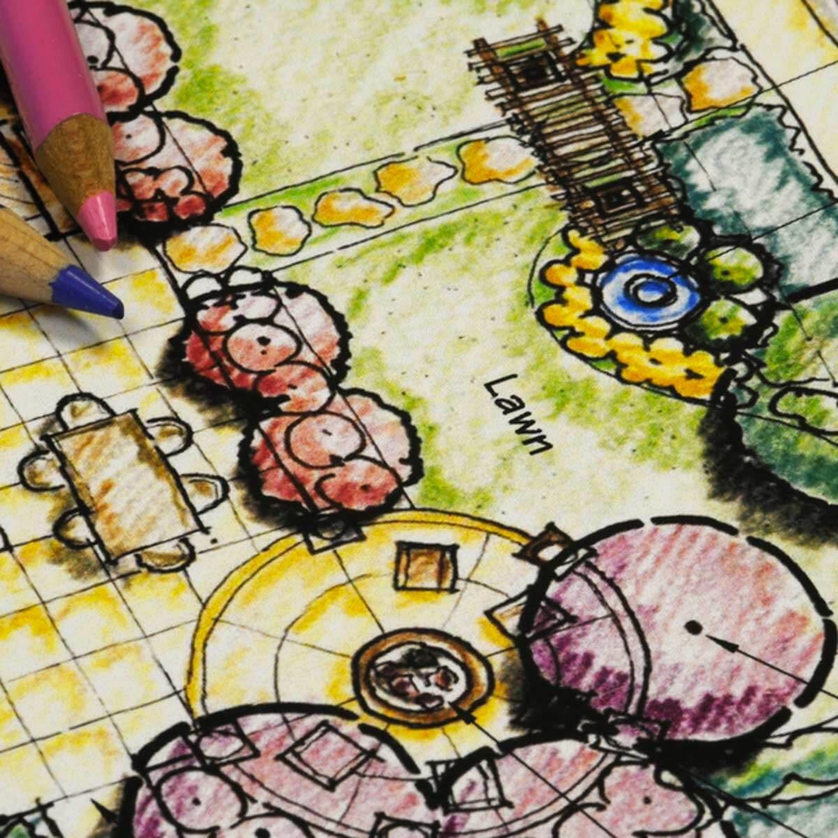 Aménagement paysager : concevoir le jardin parfait.