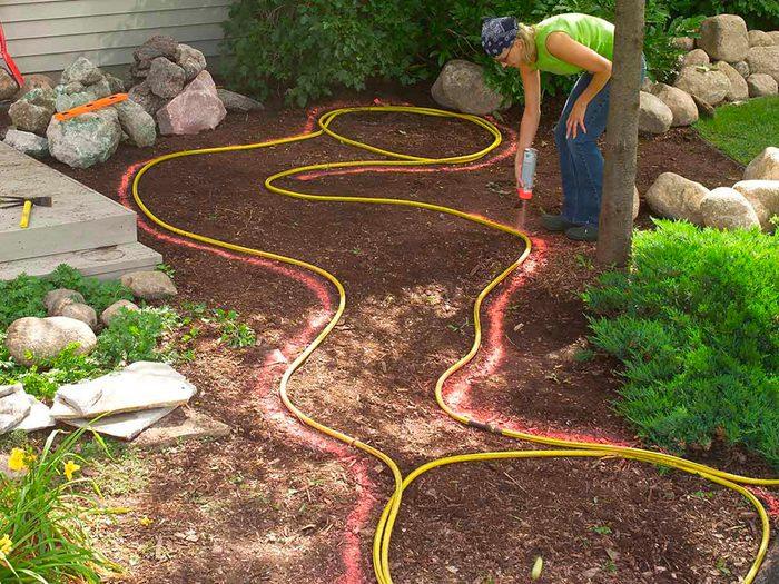Aménagement paysager: préparez le terrain.