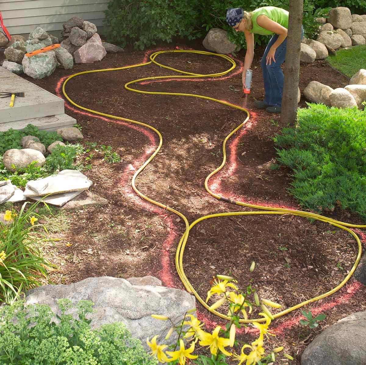 Aménagement paysager : préparez le terrain.