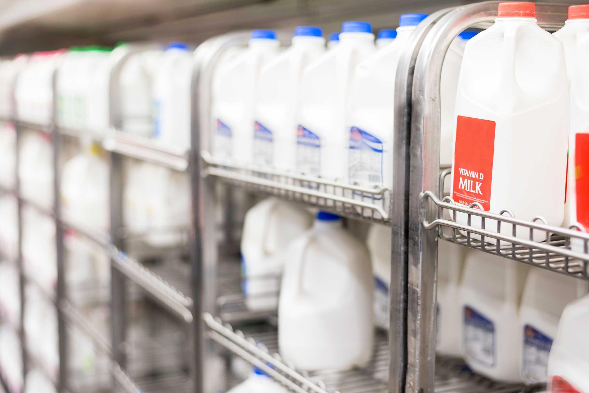 Crise d'arthrite : évitez les produits laitiers.
