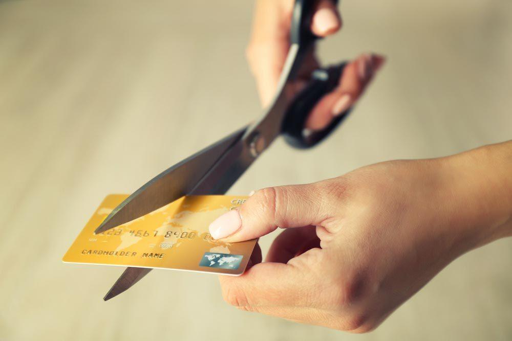 Méfiez-vous du paiement minimum de votre carte de crédit.