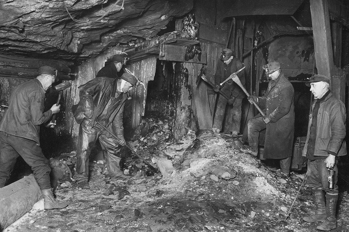 Les conditions de travail ont changé depuis la bataille de Blair Mountain.
